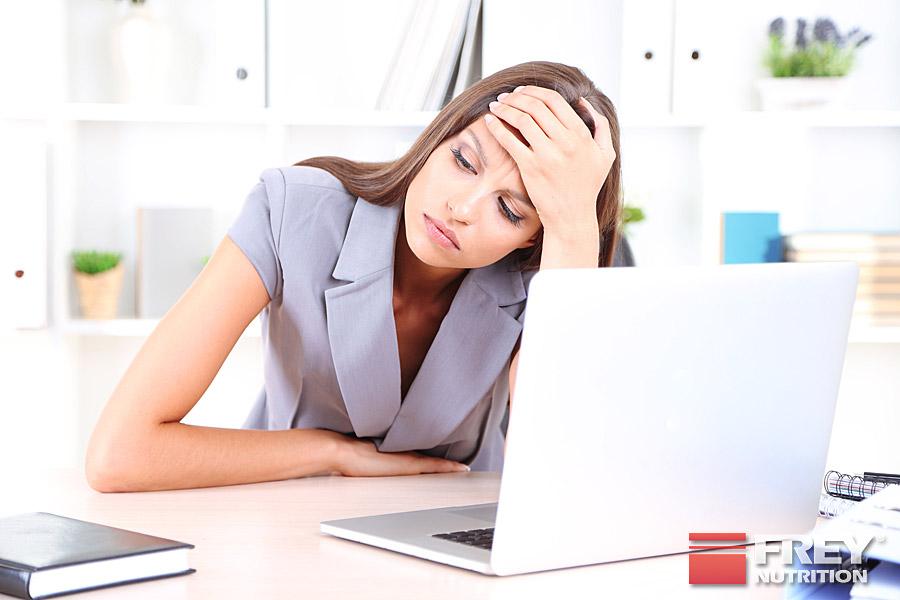 Stress beeinflusst den Hormonhaushalt