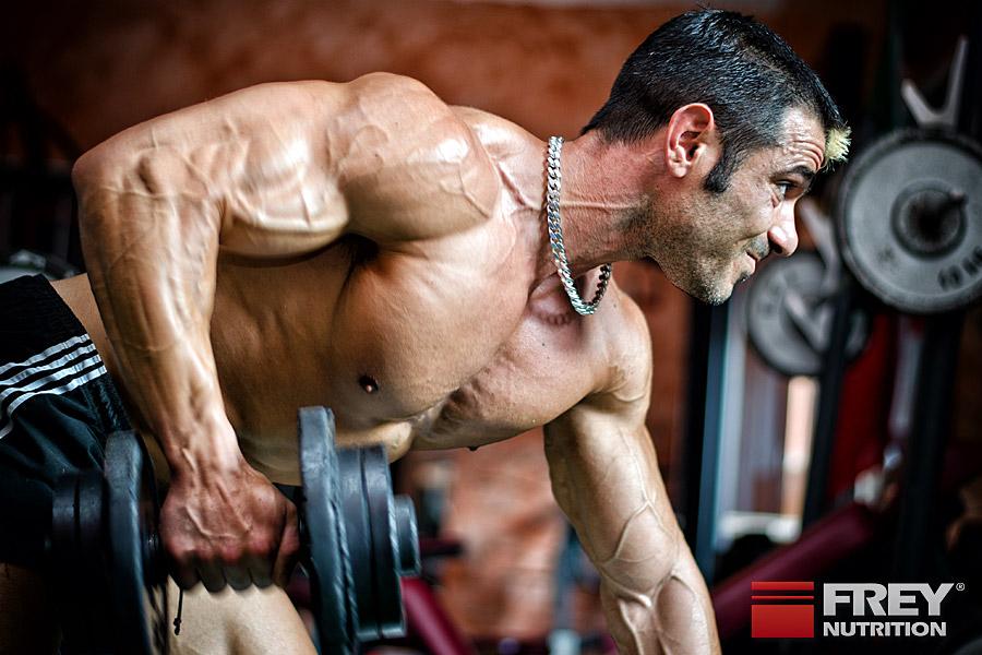 Arginin stimuliert den Muskelaufbau