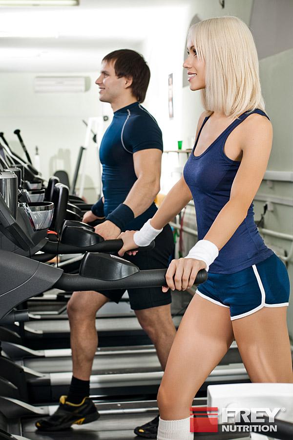 Gut trainierte Sportler schwitzen schnell und viel