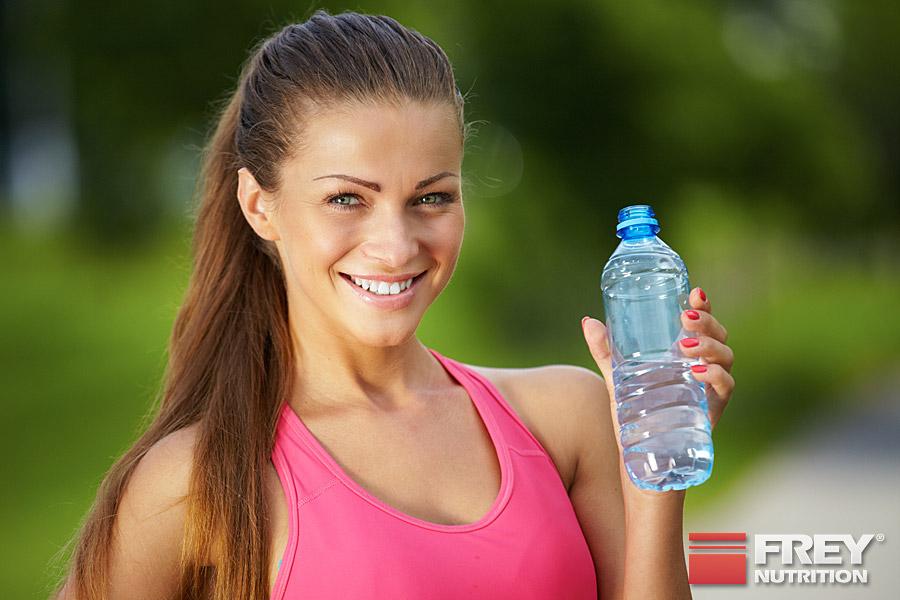 Wasser - Trinken im Sport