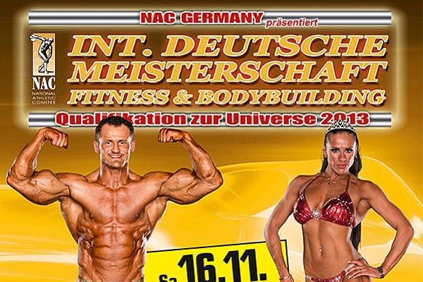 Int. Deutsche Meisterschaft des NAC 2013