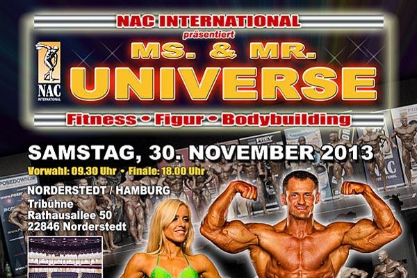 Ms. & Mr. Universe 2013