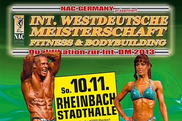 Int. Westdeutsche Meisterschaft des NAC 2013