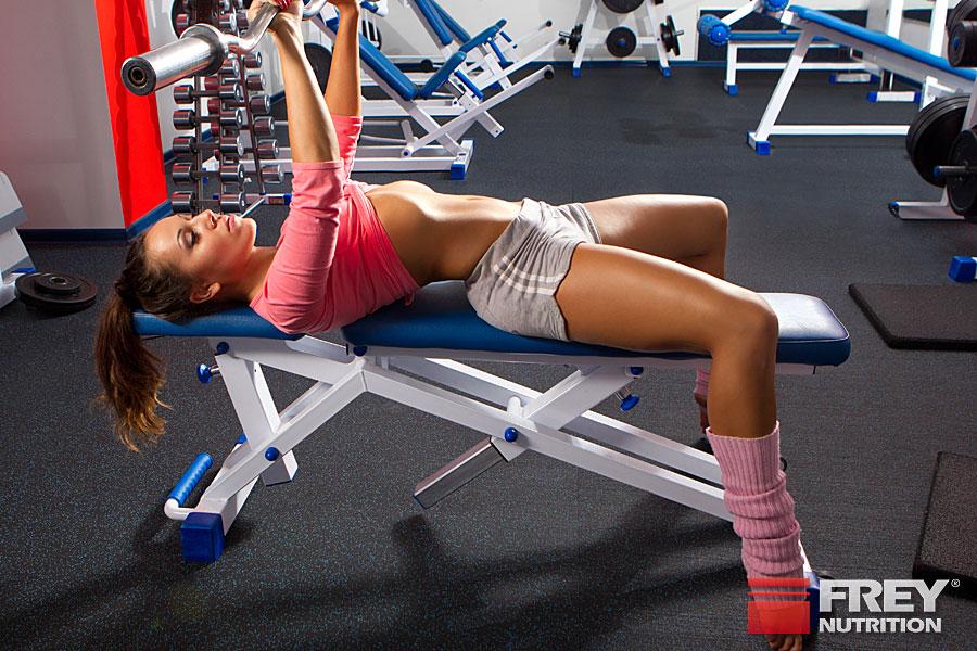 Das HST sieht 3 Trainingseinheiten pro Muskel vor