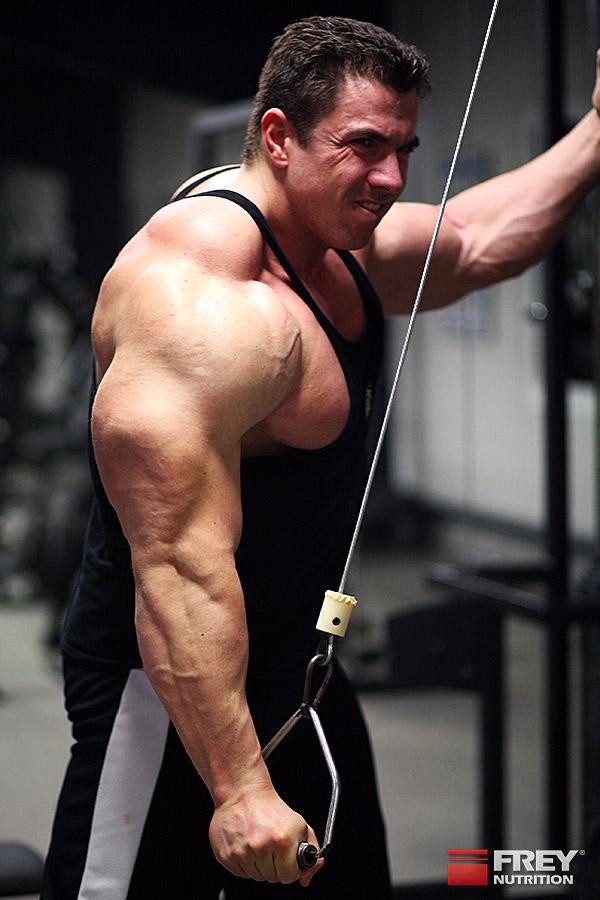 Andreas Frey trainiert nach dem Hatfield-System