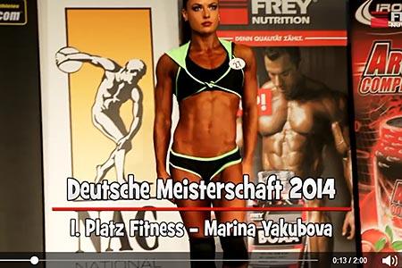 Deutsche Meisterschaft - Posing Marina Yakubova