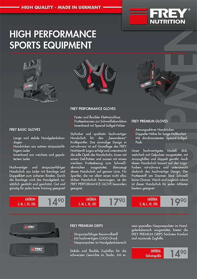 Equipment Flyer Front
