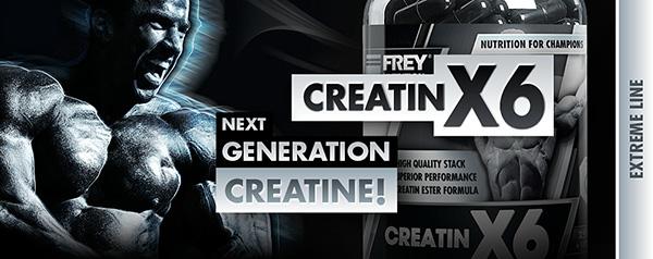 CREATIN X6 Webbanner